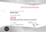 Hikvision Certified Security Associate